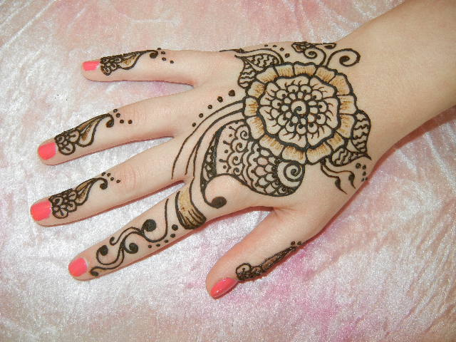 Mehndi Henna Ingredients : Henna design picture gallery hand tattoo pictures