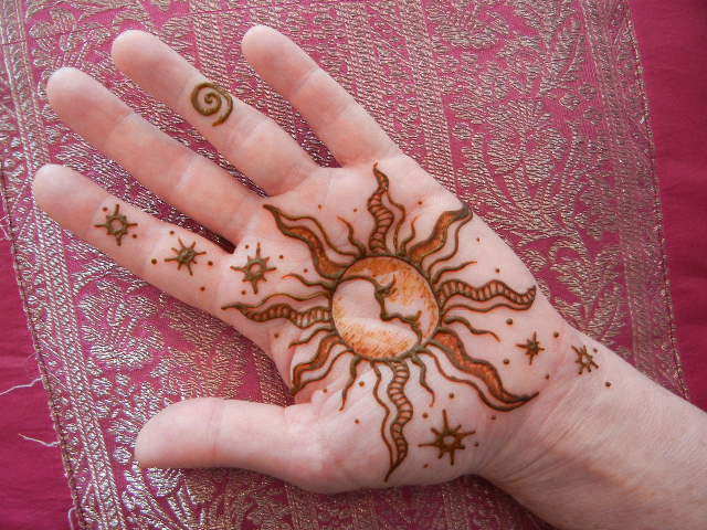 Simple Sun Henna Tattoo Designs: Henna Tattoos, Sun Henna Tattoo And