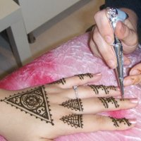 Professiona henna tattos and products in our Orlando henna studio.