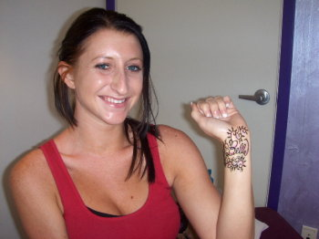 Henna for fun and beauty.  Orlando henna for tourists and locals alike.